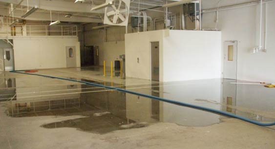 24 hour water damage emergency service